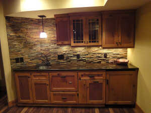 Rustic textures with fine finishes